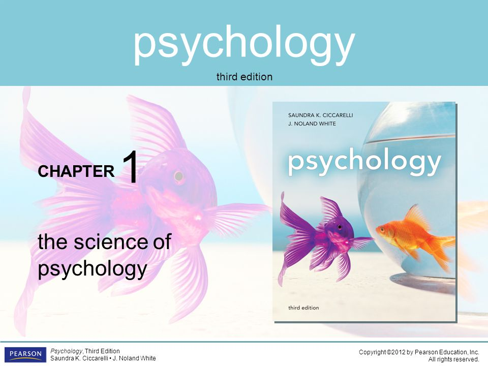 1 the science of psychology