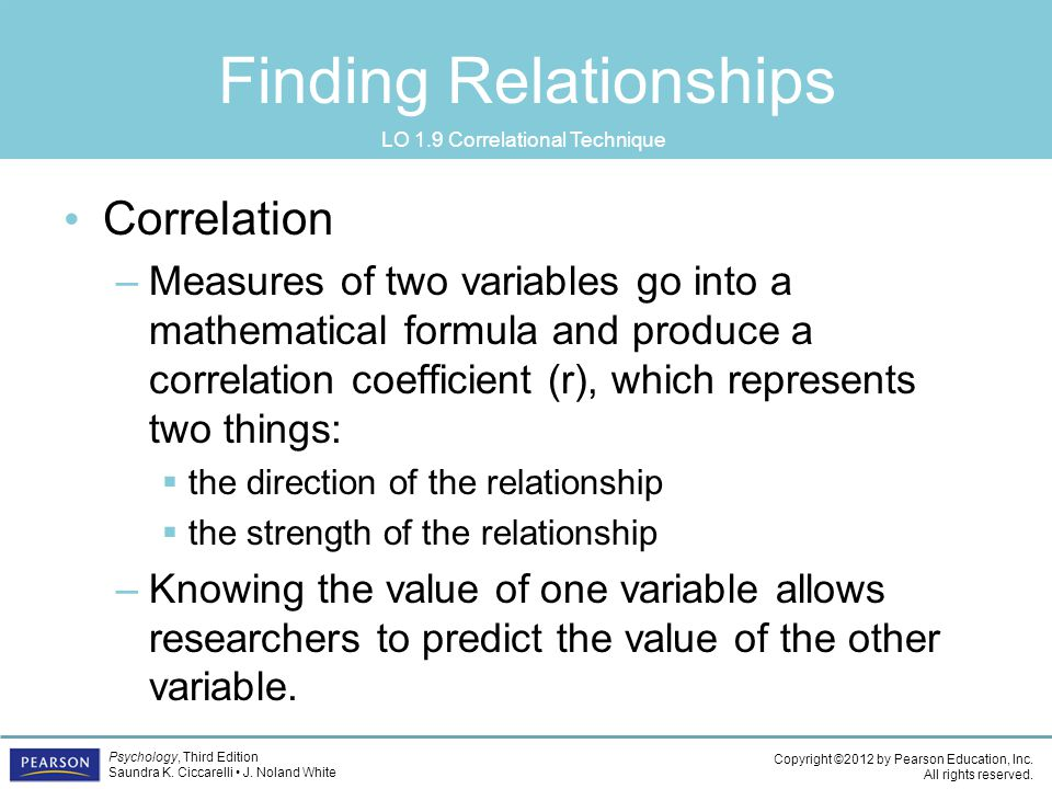 Finding Relationships