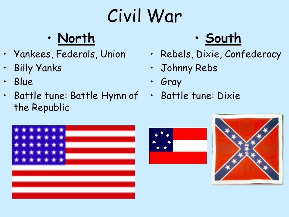 Civil War North South Yankees, Federals, Union Billy Yanks Blue