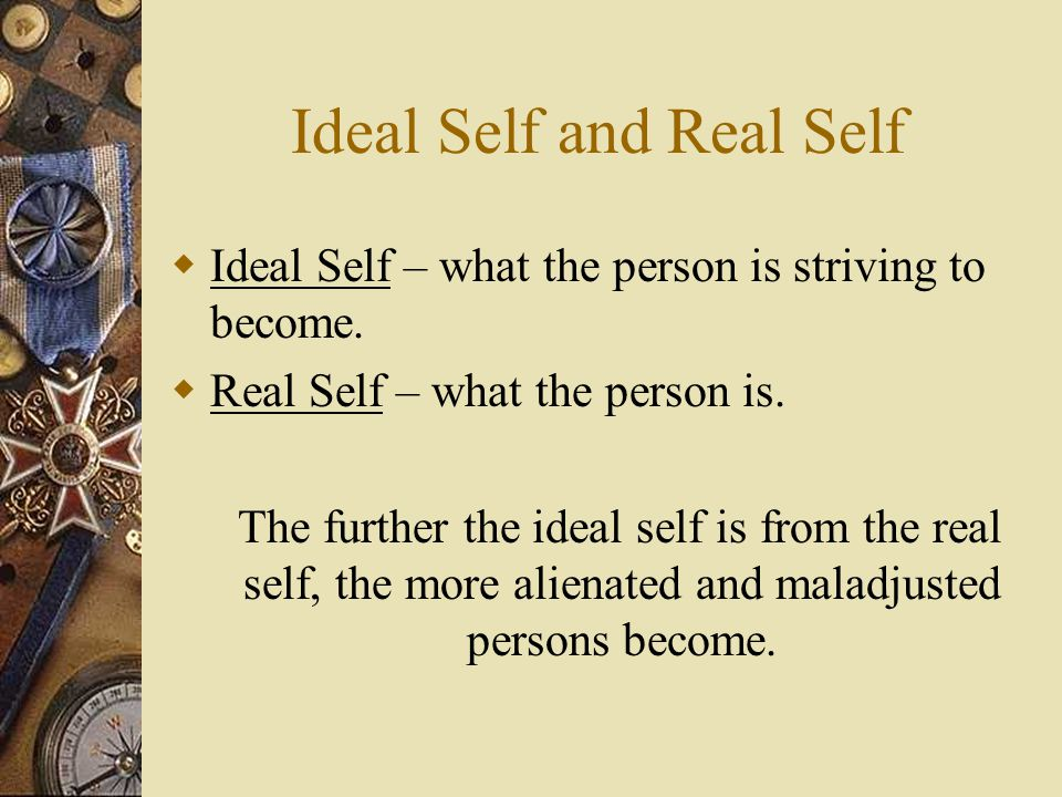 Ideal Self and Real Self