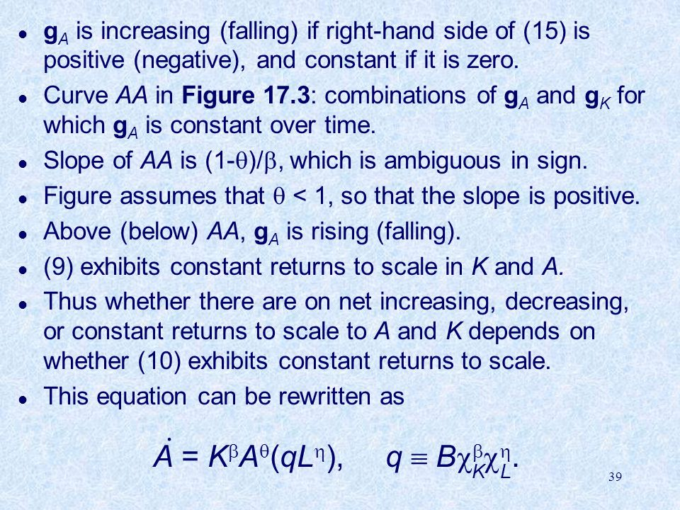 A = KA(qL), q  B. . K L
