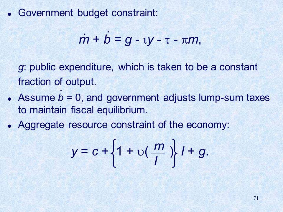 m + b = g - y -  - m, . . y = c + 1 + ( ) I + g. . m I