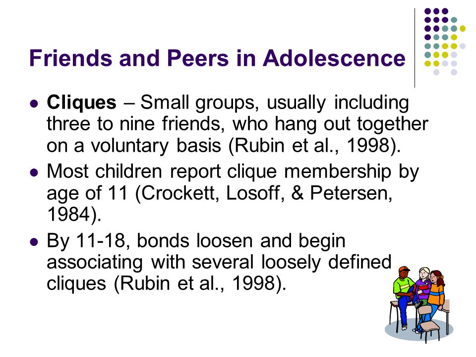 Friends and Peers in Adolescence