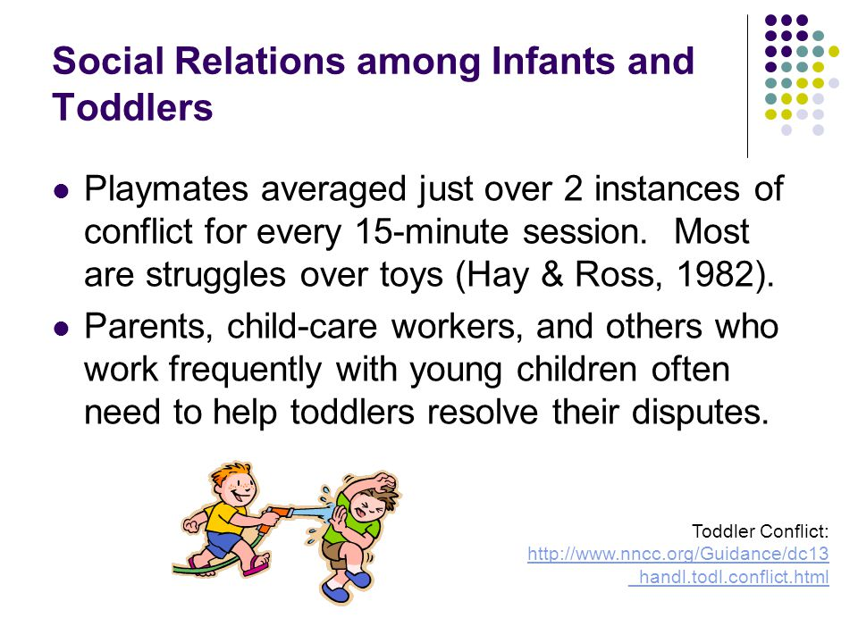 Social Relations among Infants and Toddlers