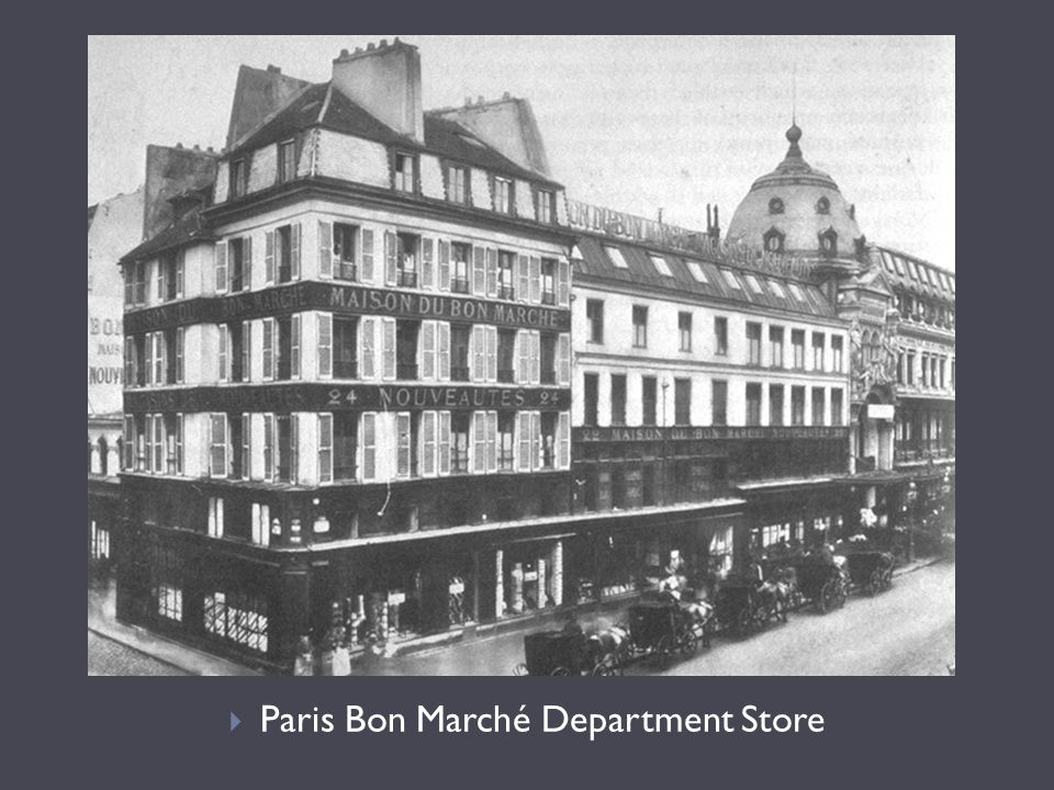 Paris Bon Marché Department Store