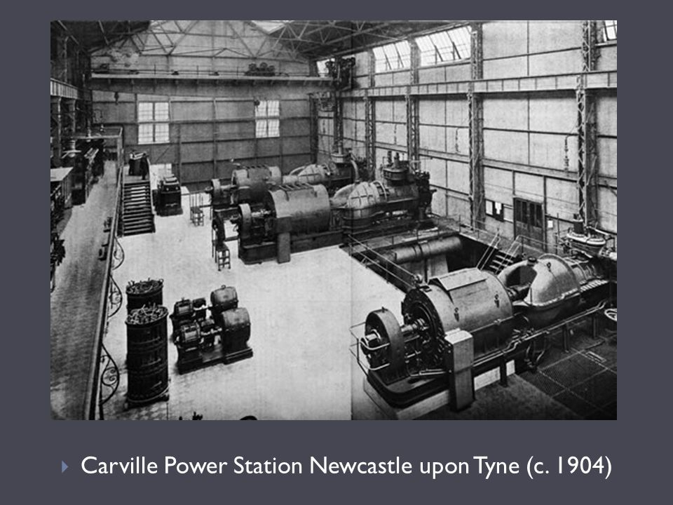 Carville Power Station Newcastle upon Tyne (c. 1904)