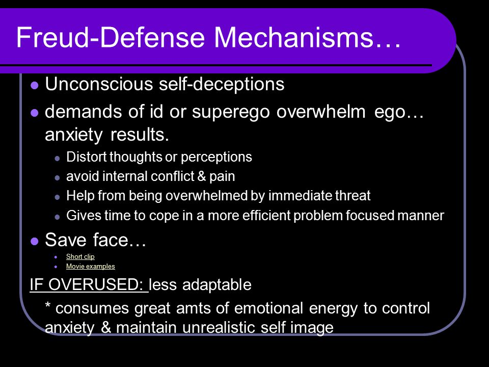 Freud-Defense Mechanisms…