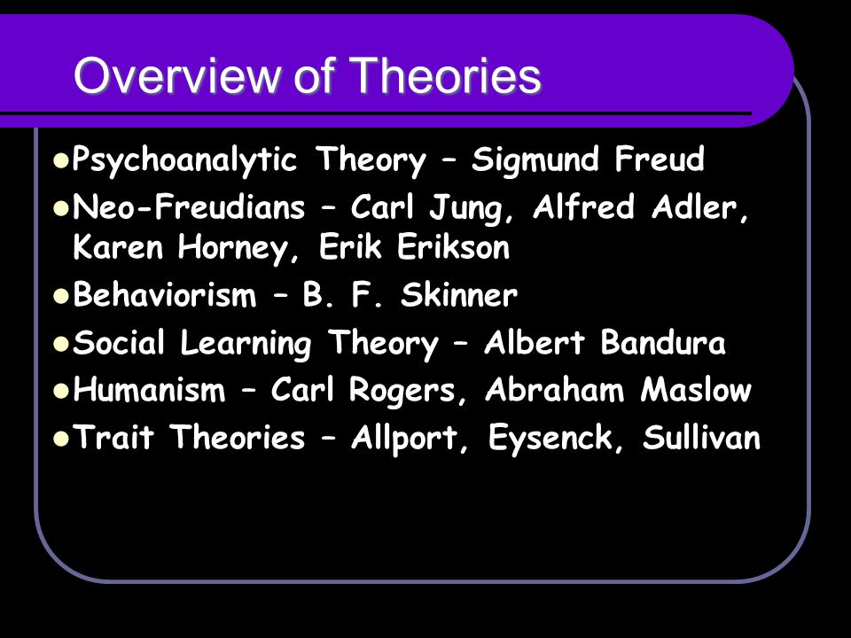 comparison of erikson and bandura theories psychology essay The psychological theory of erik erikson is based not only on the age check the category for all psychology essay samples or review the database of free essay.