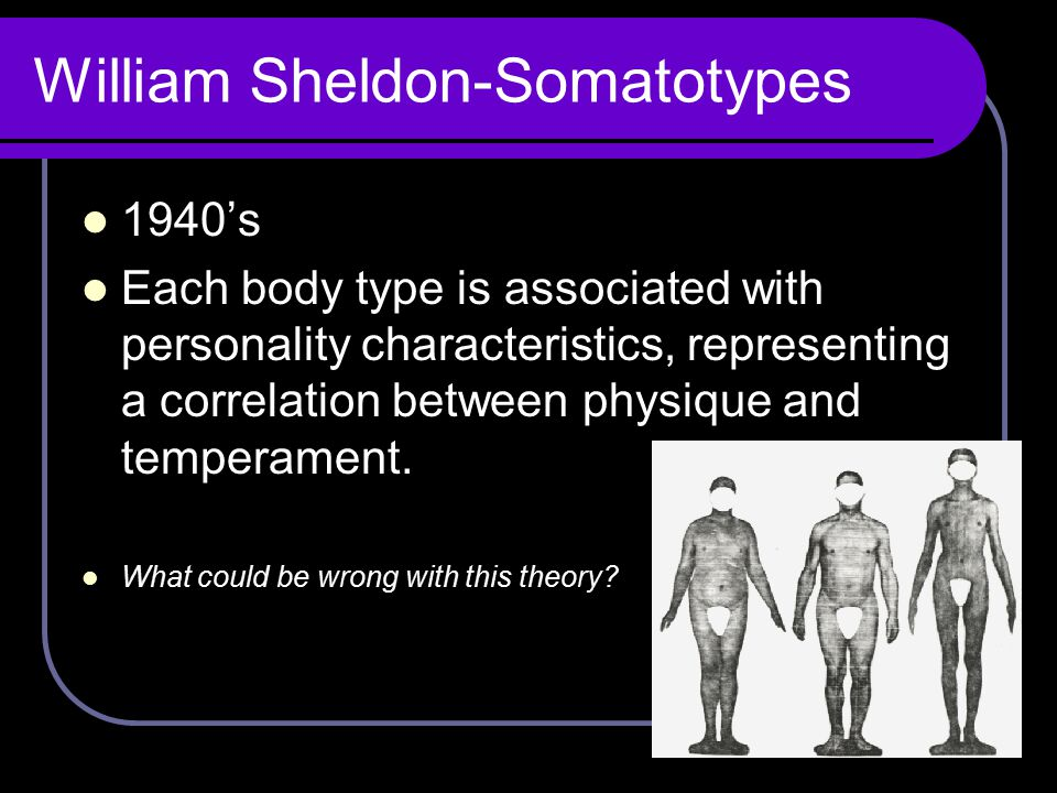 William Sheldon-Somatotypes