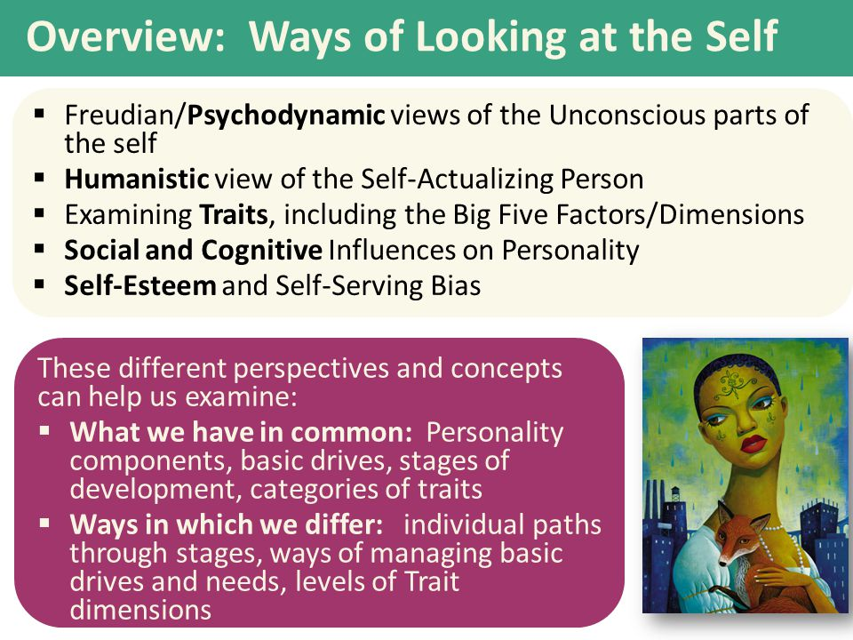 Overview: Ways of Looking at the Self