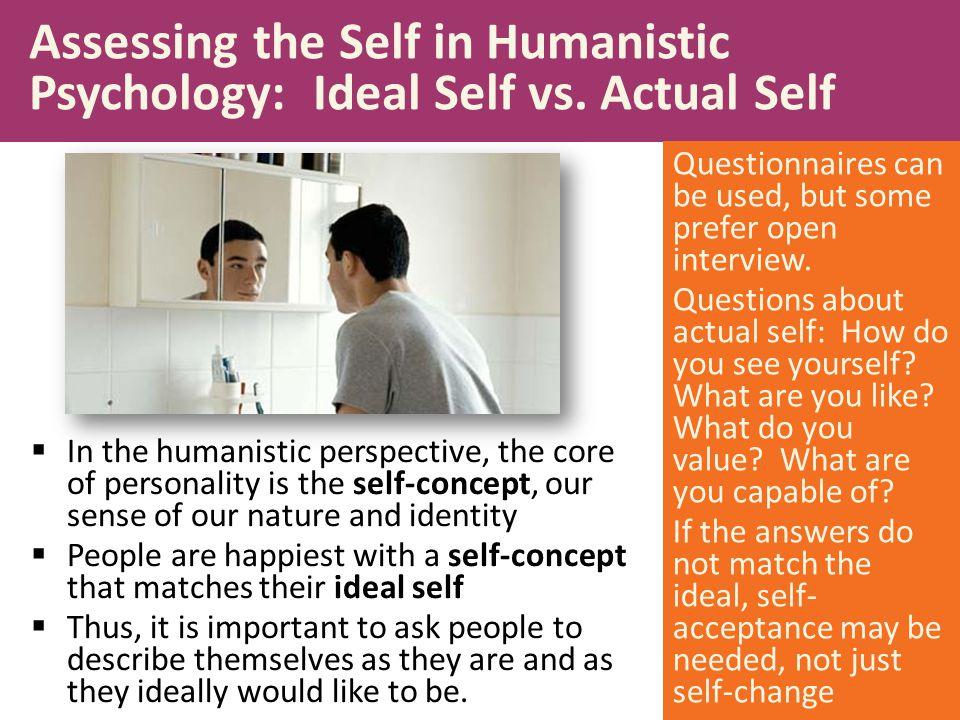 actual self vs ideal self