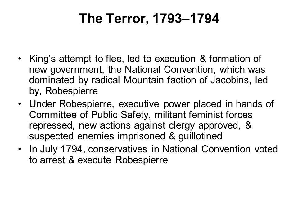 The Terror, 1793–1794