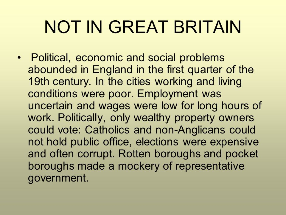 a look at the political issues in great britain How did britain change under margaret thatcher and some from the excellent british political in fact if you look at spending as a percentage of gdp it.