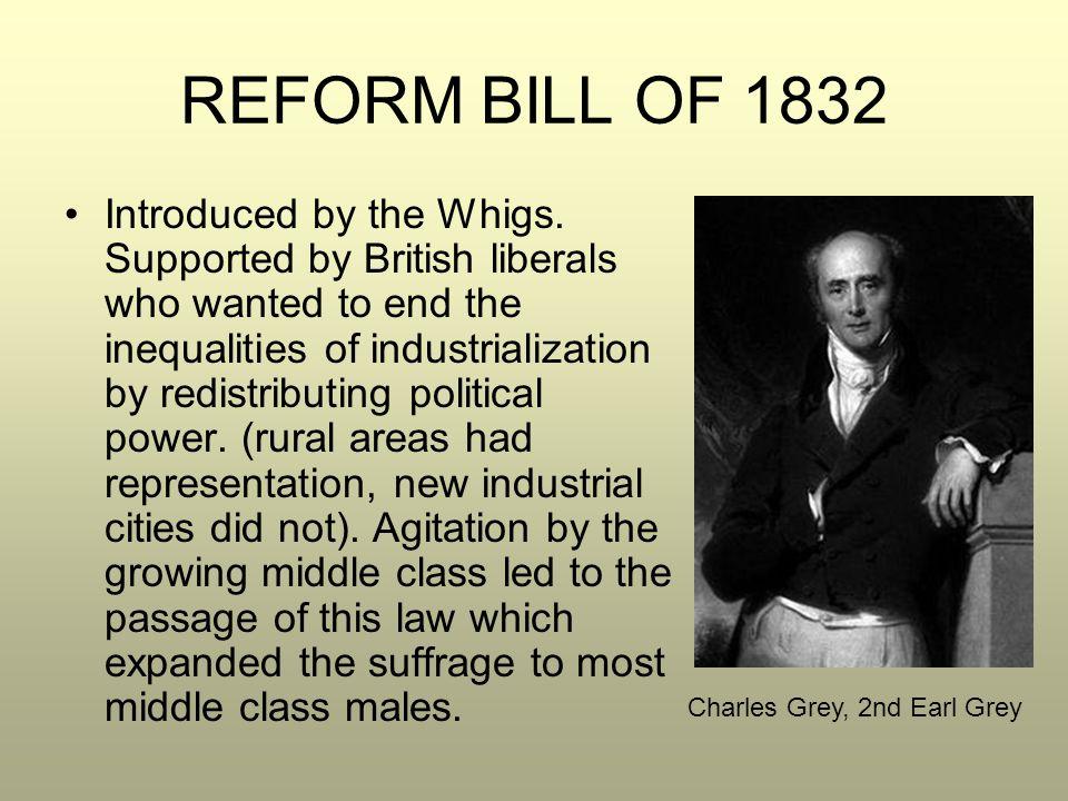 REFORM BILL OF 1832