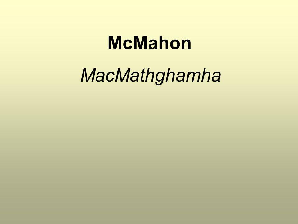 McMahon MacMathghamha