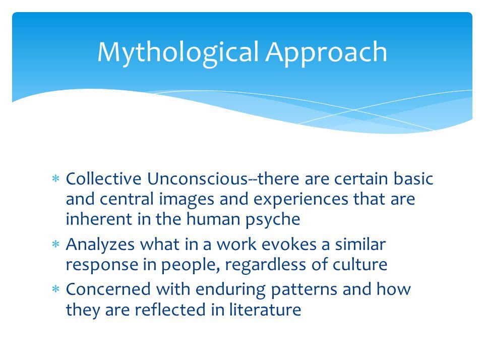 Mythological Approach