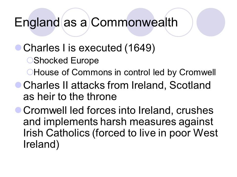 England as a Commonwealth