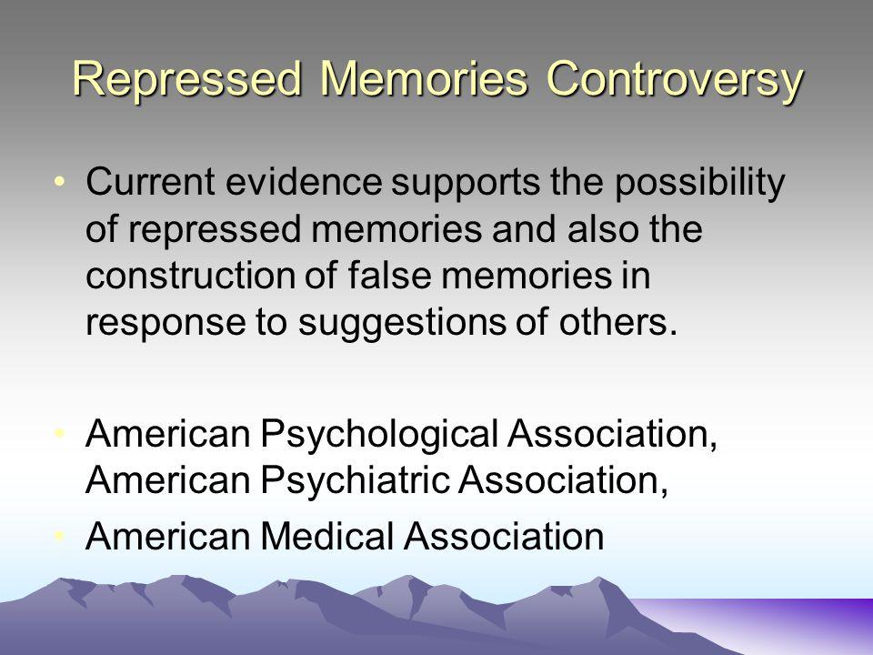 Repressed Memories Controversy