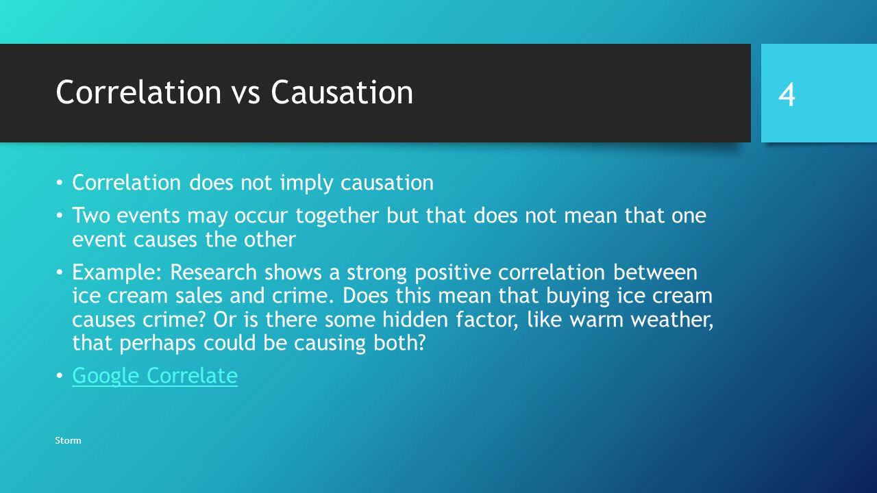 6 Examples of Correlation/Causation Confusion | graph ...