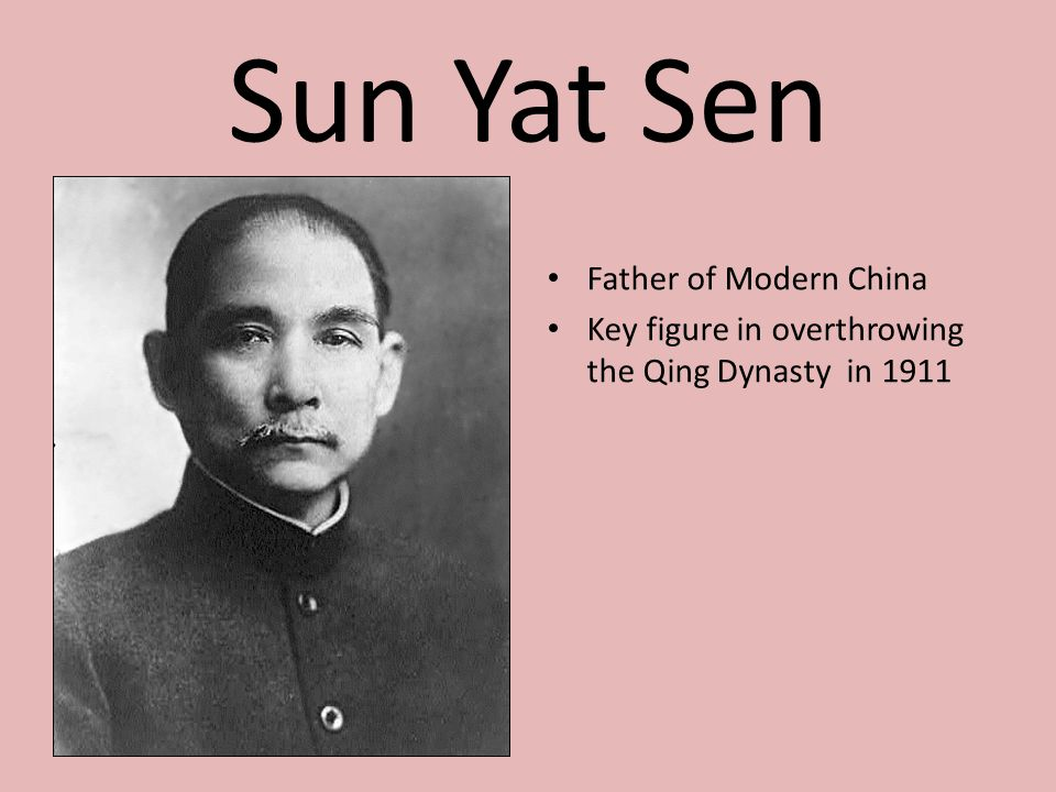 Sun Yat Sen Father of Modern China