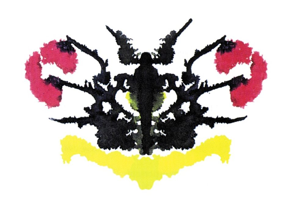 Comer, Abnormal Psychology 4e Clinical Assessment, Diagnosis, and Treatment Figure 4.01 - An inkblot similar to those used in the Rorschach test