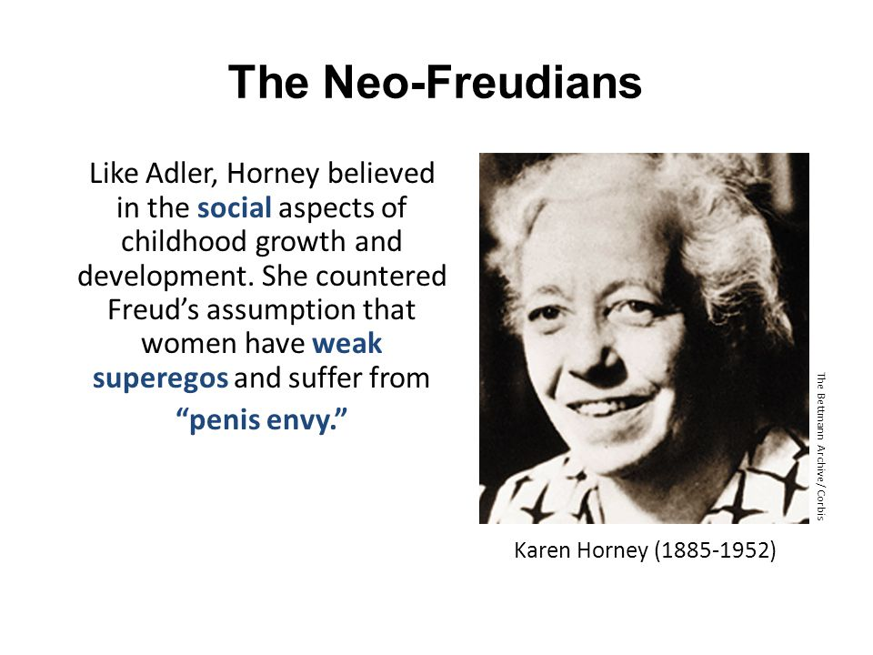 The Neo-Freudians