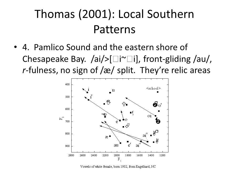 Thomas (2001): Local Southern Patterns