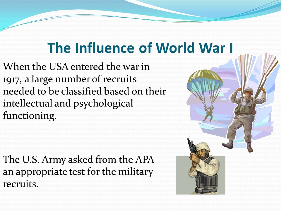 The Influence of World War I