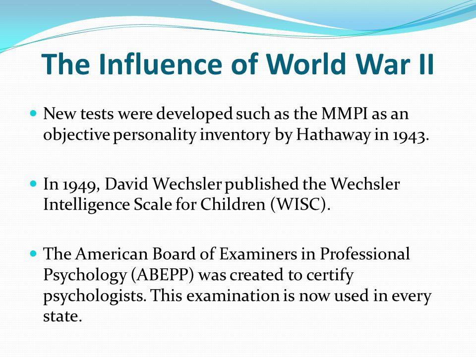 The Influence of World War II