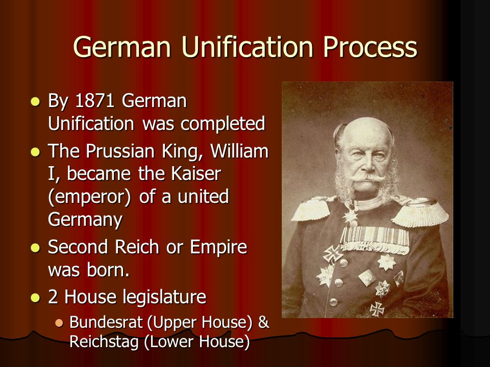 German Unification Process