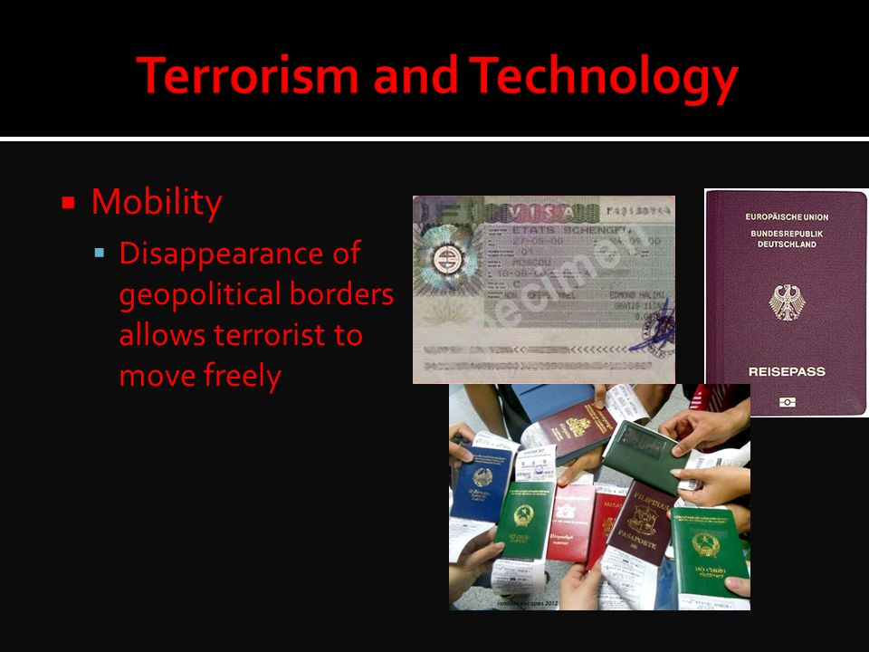 Terrorism and Technology