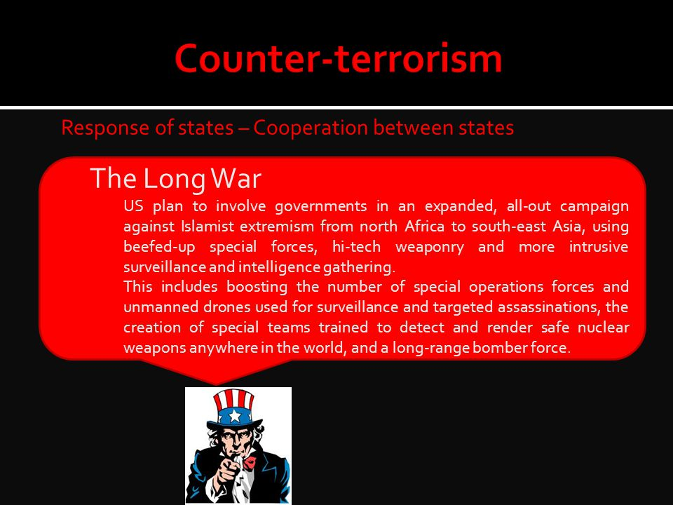 Counter-terrorism The Long War