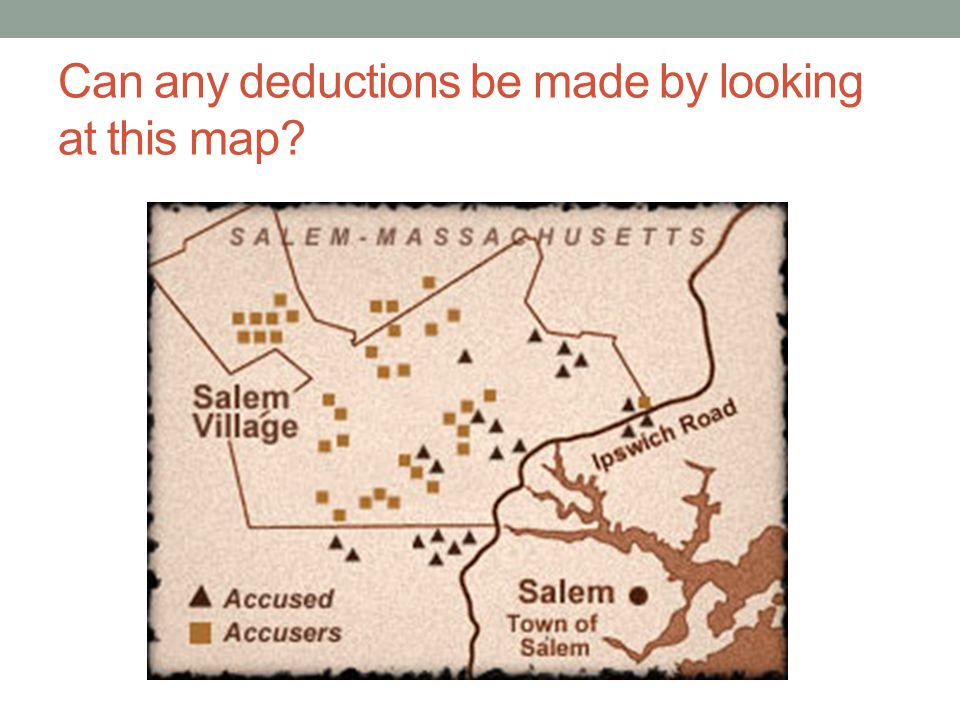 Can any deductions be made by looking at this map