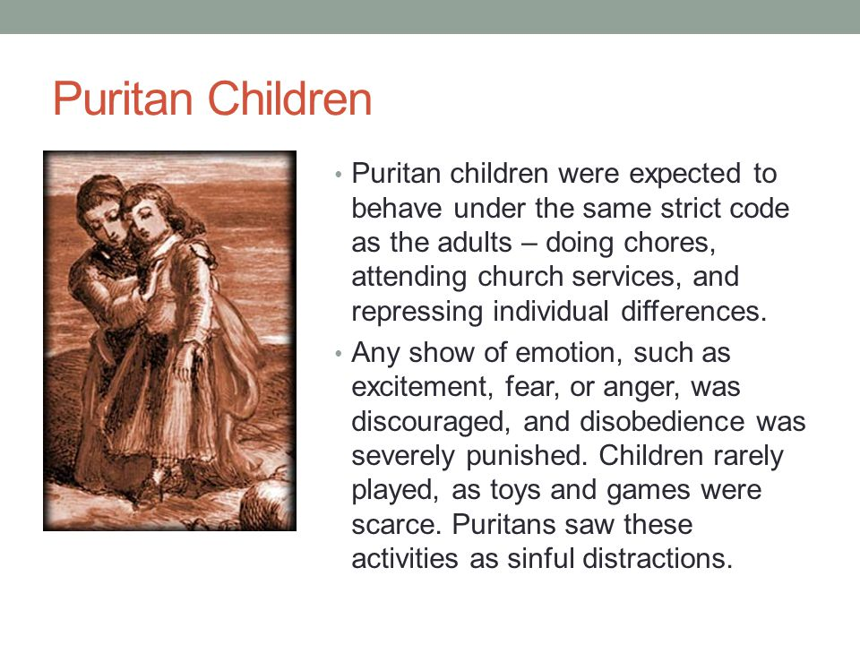 Puritan Children