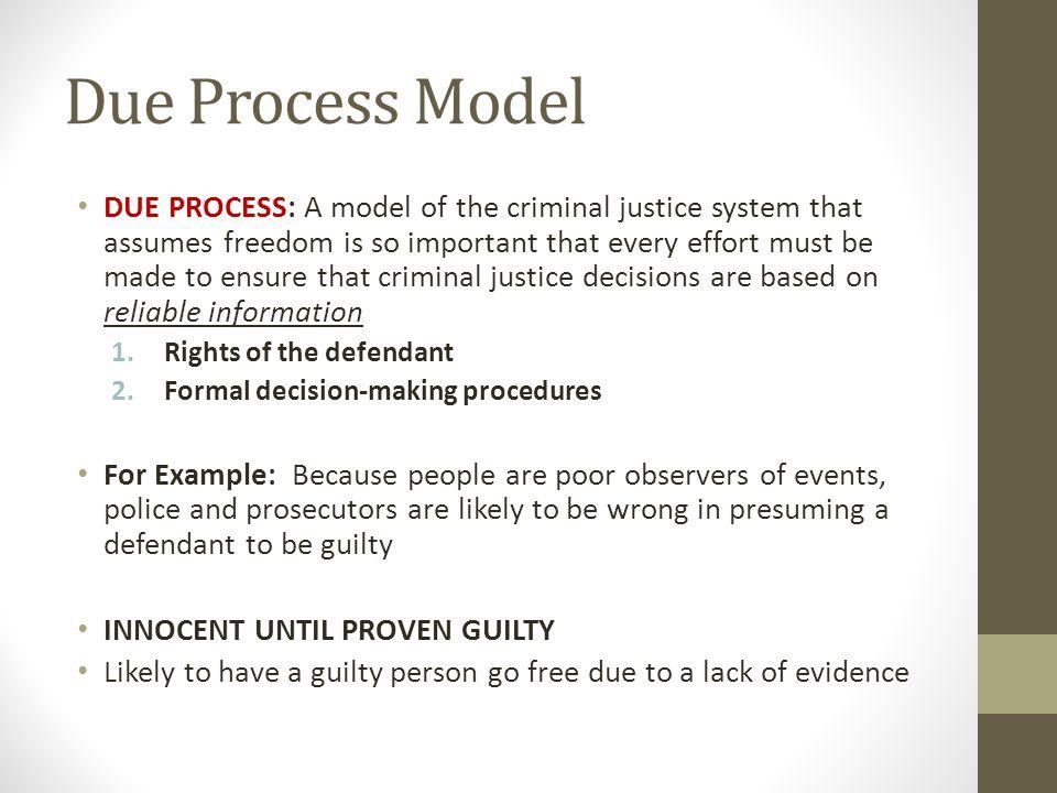 essay of due process