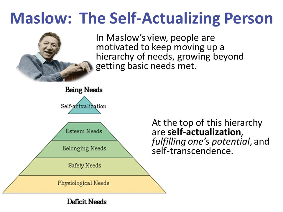 Maslow: The Self-Actualizing Person