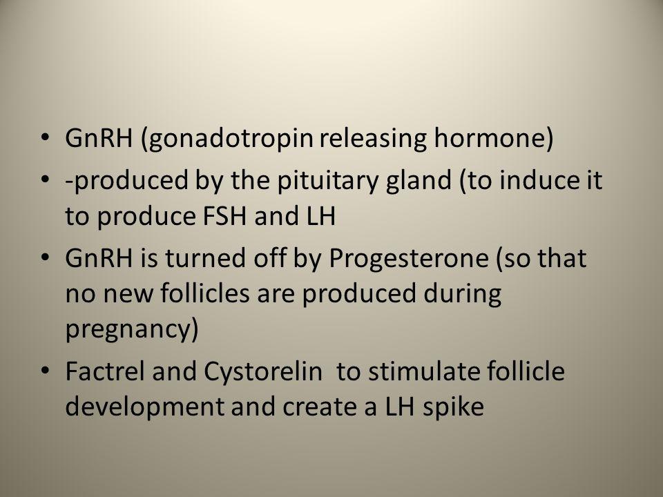 GnRH (gonadotropin releasing hormone)