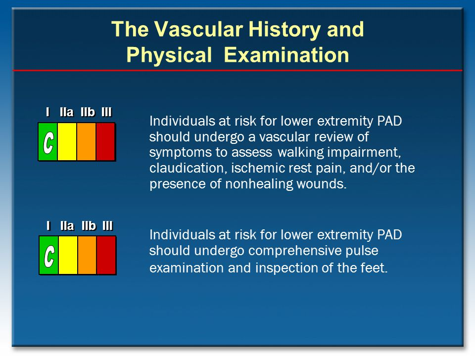 The Vascular History and Physical Examination