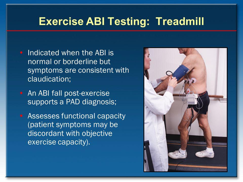Exercise ABI Testing: Treadmill
