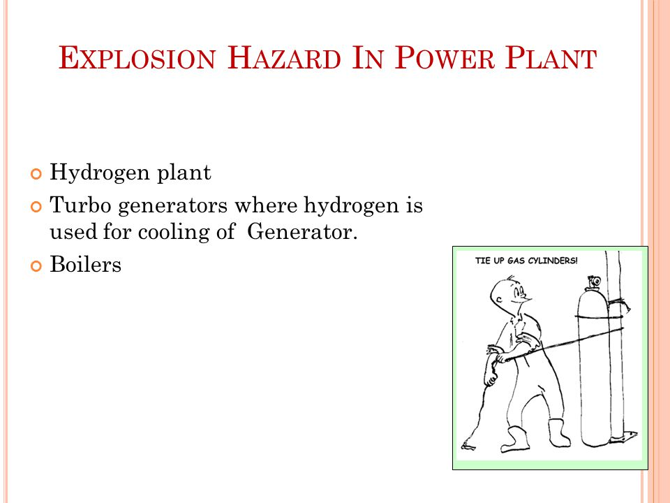 Explosion Hazard In Power Plant