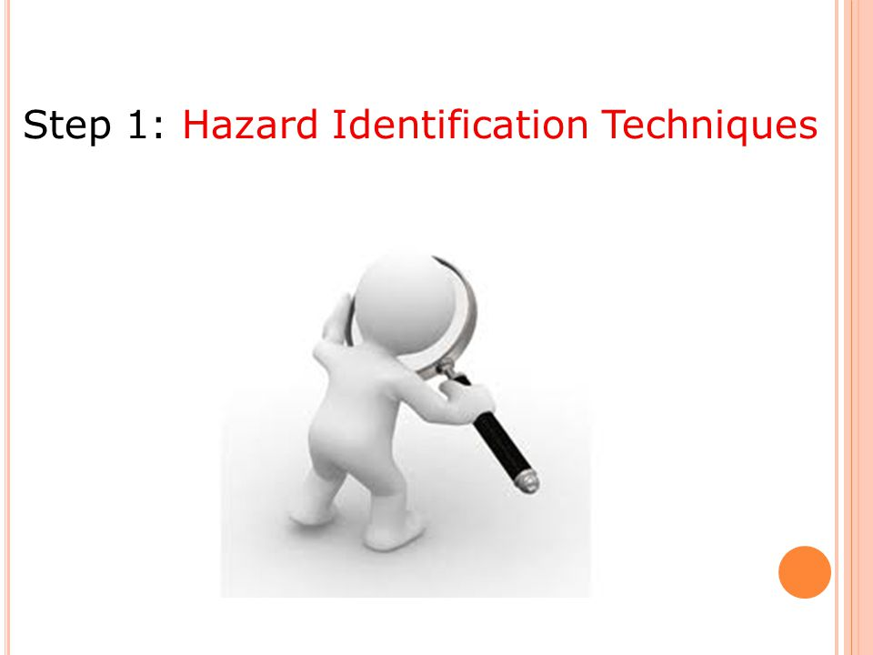 Step 1: Hazard Identification Techniques