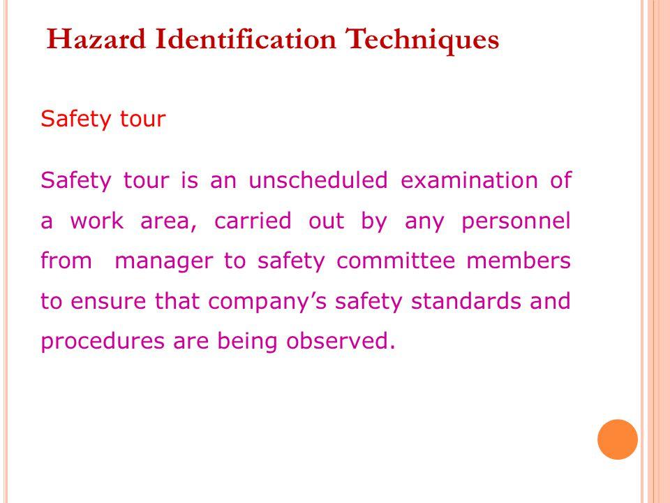 Hazard Identification Techniques