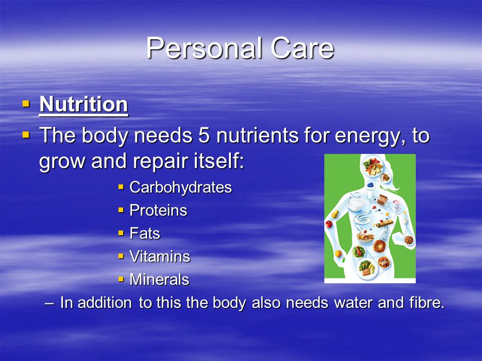 Personal Care Nutrition