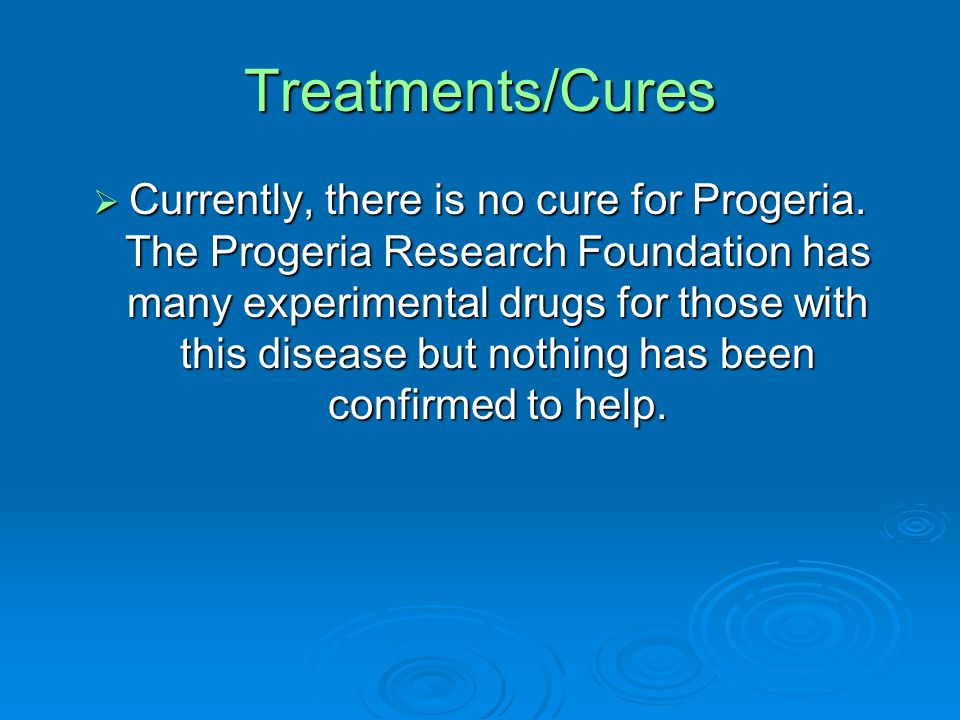 Treatments/Cures