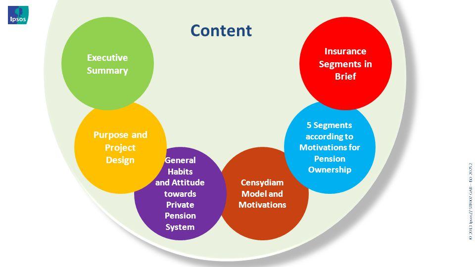 Content Insurance Segments in Brief Executive Summary