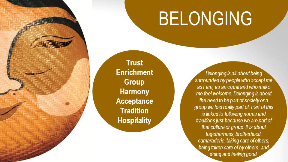 Trust Enrichment Group Acceptance Tradition Hospitality