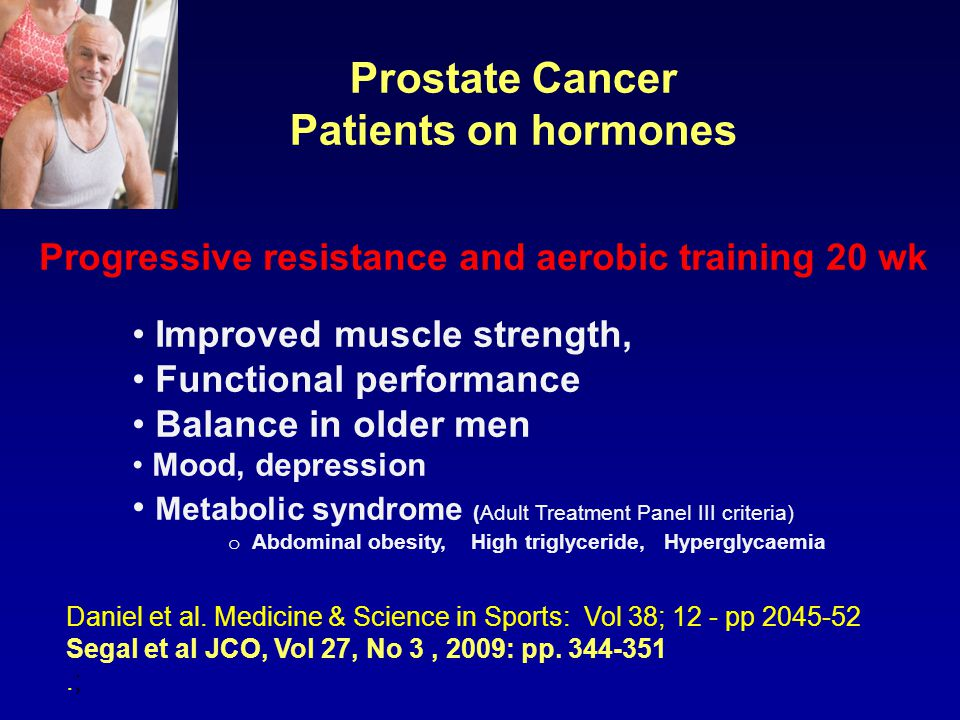 Prostate Cancer Patients on hormones