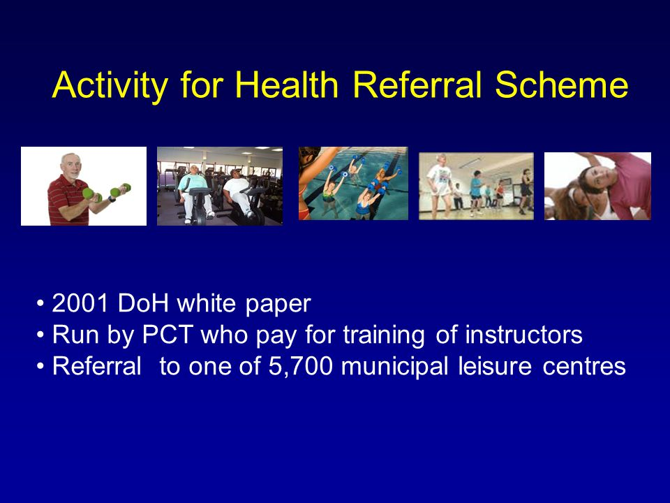 Activity for Health Referral Scheme