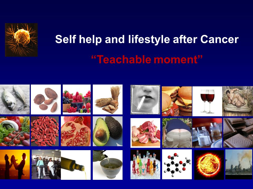 Self help and lifestyle after Cancer