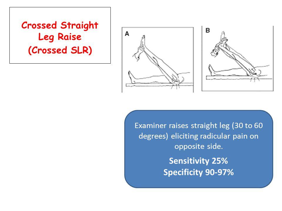 Crossed Straight Leg Raise